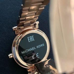 Michael Kors Accessories - Michael Kors Smart Gold Smart Watch Bling